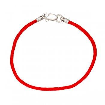 Гладкий шелковый браслет, 2,0 мм