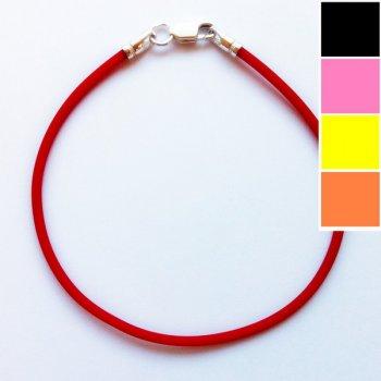 Каучуковый браслет, 2,0 мм