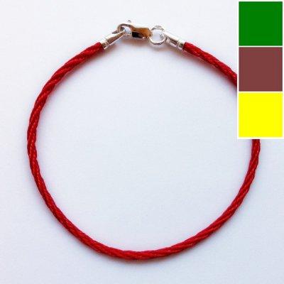 Шелковый браслет Милан 301 | 2.0 мм Цвет: На выбор