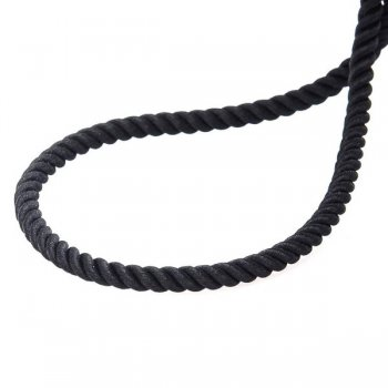 """Шелковый шнурок """"Спаси и сохрани"""" с серебряной позолоченной застежкой"""" (3мм)"""