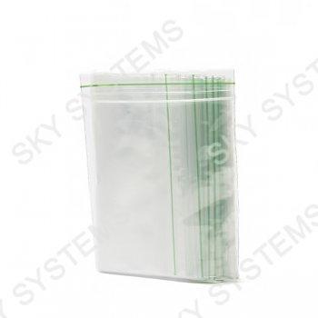 Пакеты с замком zip-lock 150 х 150 мм