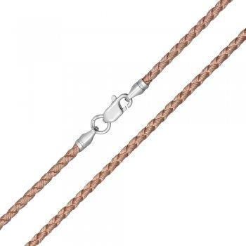 Шелковый шнурок Милан 2016 с серебром | Цвет: Золотой (3,0 мм)