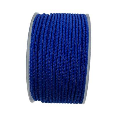 Шелковый шнур Милан 2016 | 2.0 мм, Цвет: Синий 24