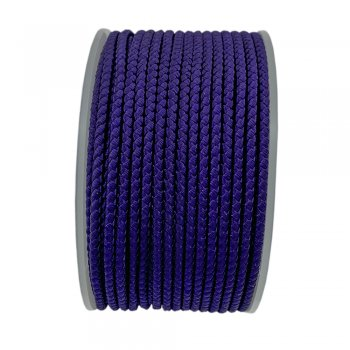 Шелковый шнур Милан 2016 | 2.0 мм, Цвет: Фиолетовый 28