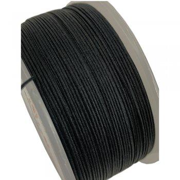 Черная нить Паракорд 1.0 мм