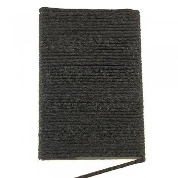 Шелковый шнур гладкий | 2.0 мм Цвет: Черный 102