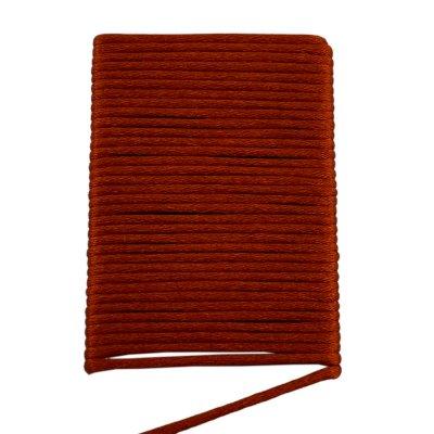 Шелковый шнур гладкий | 2.0 мм Цвет: Терракот 46