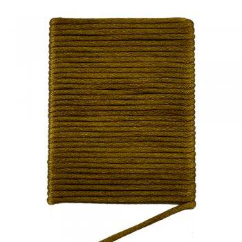 Шелковый шнур гладкий   2.0 мм Цвет: Бронза 104