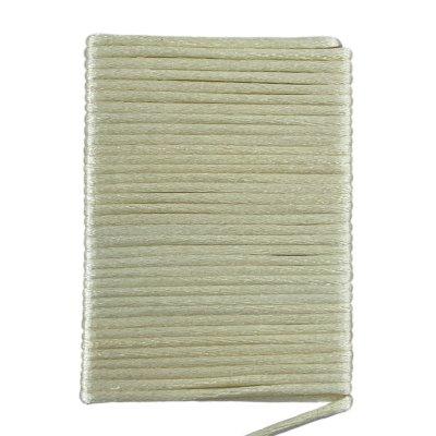 Шелковый шнур гладкий | 2.0 мм Цвет: Крем 49