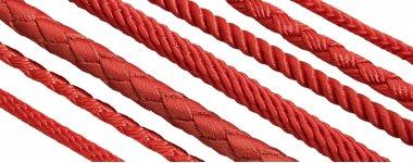 Шнуры красного цвета