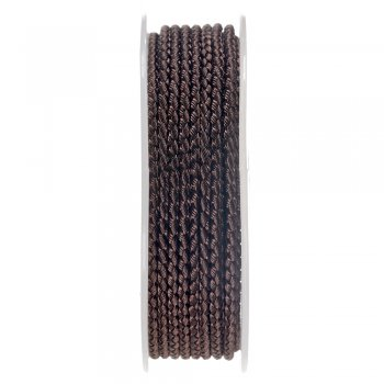 Шелковый шнур Милан 2016 | 2.5 мм, Цвет: Коричневый 02