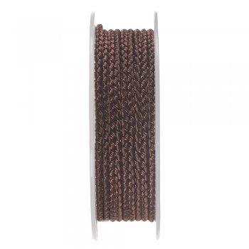 Шелковый шнур Милан 2016 | 2.5 мм, Цвет: Коричневый 03