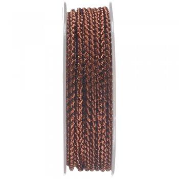 Шелковый шнур Милан 2016 | 2.5 мм, Цвет: Коричневый 05