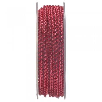 Шелковый шнур Милан 2016   2.5 мм, Цвет: Малиновый 09