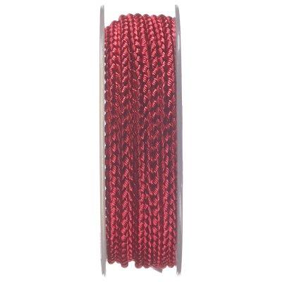 Шелковый шнур Милан 2016 | 2.5 мм, Цвет: Малиновый 09