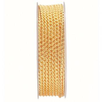 Шелковый шнур Милан 2016 | 2.5 мм, Цвет: Желтый 16