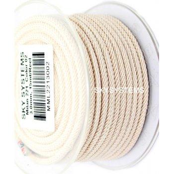 Шелковый шнур Милан 221 | 3.0 мм Цвет: Бежевый 02