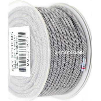 Шелковый шнур Милан 221 | 3.0 мм Цвет: Серый 03