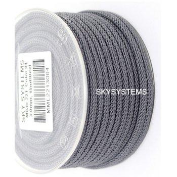 Шелковый шнур Милан 221 | 3.0 мм Цвет: Серый 04