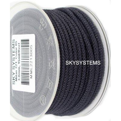 Шелковый шнур Милан 221 | 3.0 мм, Цвет: Серый 05