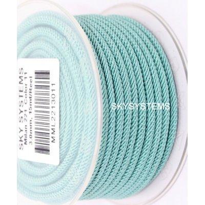 Шелковый шнур Милан 221 | 3.0 мм, Цвет: Мята 11