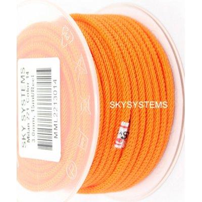 Шелковый шнур Милан 221 | 3.0 мм, Цвет: Оранжевый 14