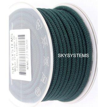 Шелковый шнур Милан 221 | 3.0 мм Цвет: Зеленый 20