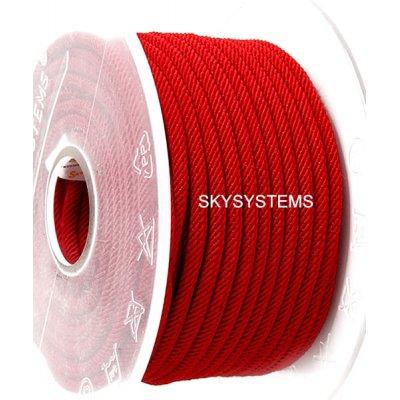 Шелковый шнур Милан 221 | 3.0 мм, Цвет: Красный 30