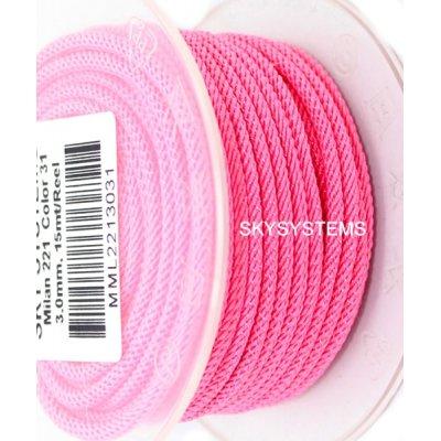 Шелковый шнур Милан 221   3.0 мм, Цвет: Розовый 31
