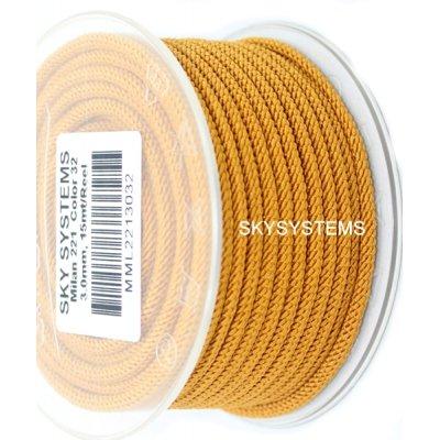 Шелковый шнур Милан 221 | 3.0 мм, Цвет: Коричневый 32