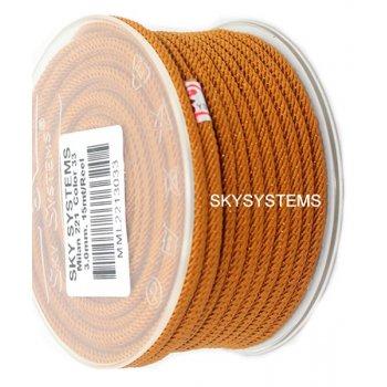 Шелковый шнур Милан 221 | 3.0 мм Цвет: Коричневый 33