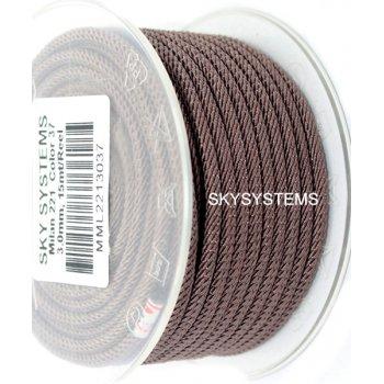 Шелковый шнур Милан 221   3.0 мм Цвет: Темно-коричневый 37