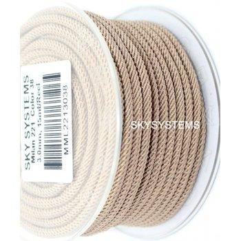 Шелковый шнур Милан 221 | 3.0 мм Цвет: Бежевый 38