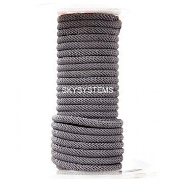 Шелковый шнур Милан 221 | 4.0 мм Цвет: Серый 04
