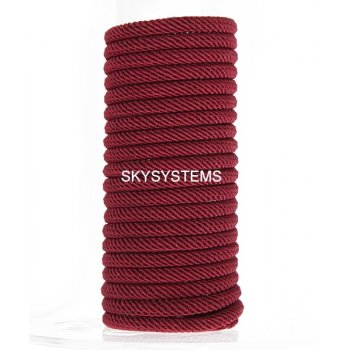 Шелковый шнур Милан 221 | 4.0 мм Цвет: Бордовый 15