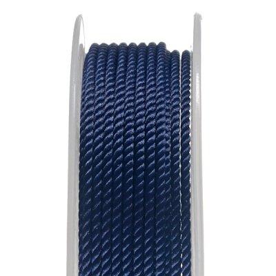 Шелковый шнур Милан 226 | 2.0 мм, Цвет: Синий 07