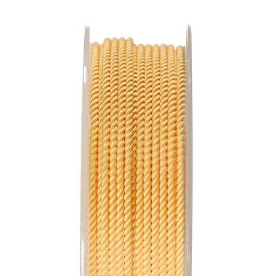 Шелковый шнур Милан 226 | 2.0 мм, Цвет: Желтый 12