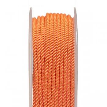 Шелковый шнур Милан 226   2.0 мм, Цвет: Оранжевый 14