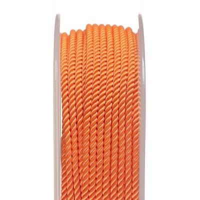Шелковый шнур Милан 226 | 2.0 мм, Цвет: Оранжевый 14