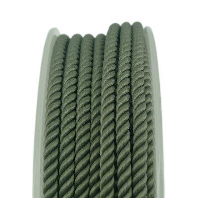 Шелковый шнур Милан 226 | 2.0 мм, Цвет: Зеленый 18
