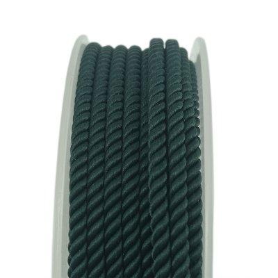 Шелковый шнур Милан 226 | 2.0 мм, Цвет: Зеленый 20