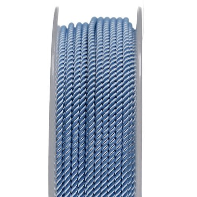 Шелковый шнур Милан 226   2.0 мм, Цвет: Голубой 21