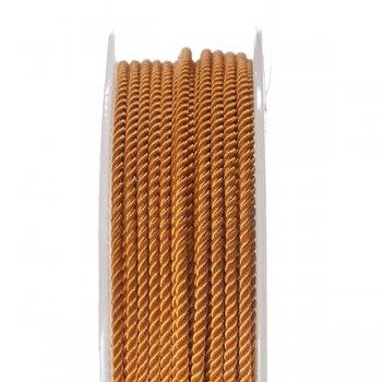 Шелковый шнур Милан 226 | 2.0 мм, Цвет: Коричневый  33
