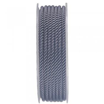 Шелковый шнур Милан 226 | 3.0 мм, Цвет: Серый 04
