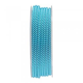 Шелковый шнур Милан 226 | 3.0 мм, Цвет: Бирюза 10