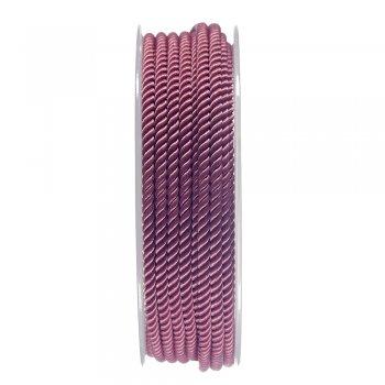 Шелковый шнур Милан 226 | 3.0 мм, Цвет: Розовый 16