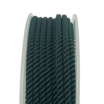 Шелковый шнур Милан 226 | 3.0 мм, Цвет: Зеленый 20