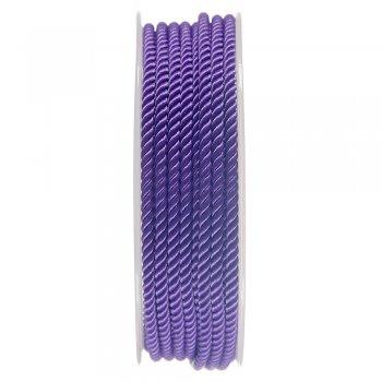 Шелковый шнур Милан 226   3.0 мм, Цвет: Фиолетовый 25