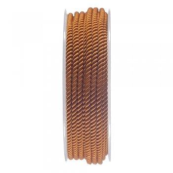 Шелковый шнур Милан 226   3.0 мм, Цвет: Коричневый 33