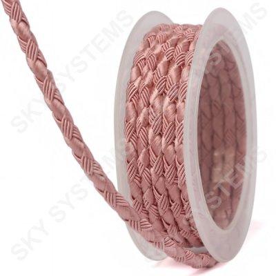 Шелковый шнур Милан 222 | 5.0 мм, Цвет: Розовый 17